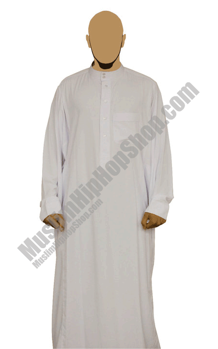 White Al haramain Jubbah
