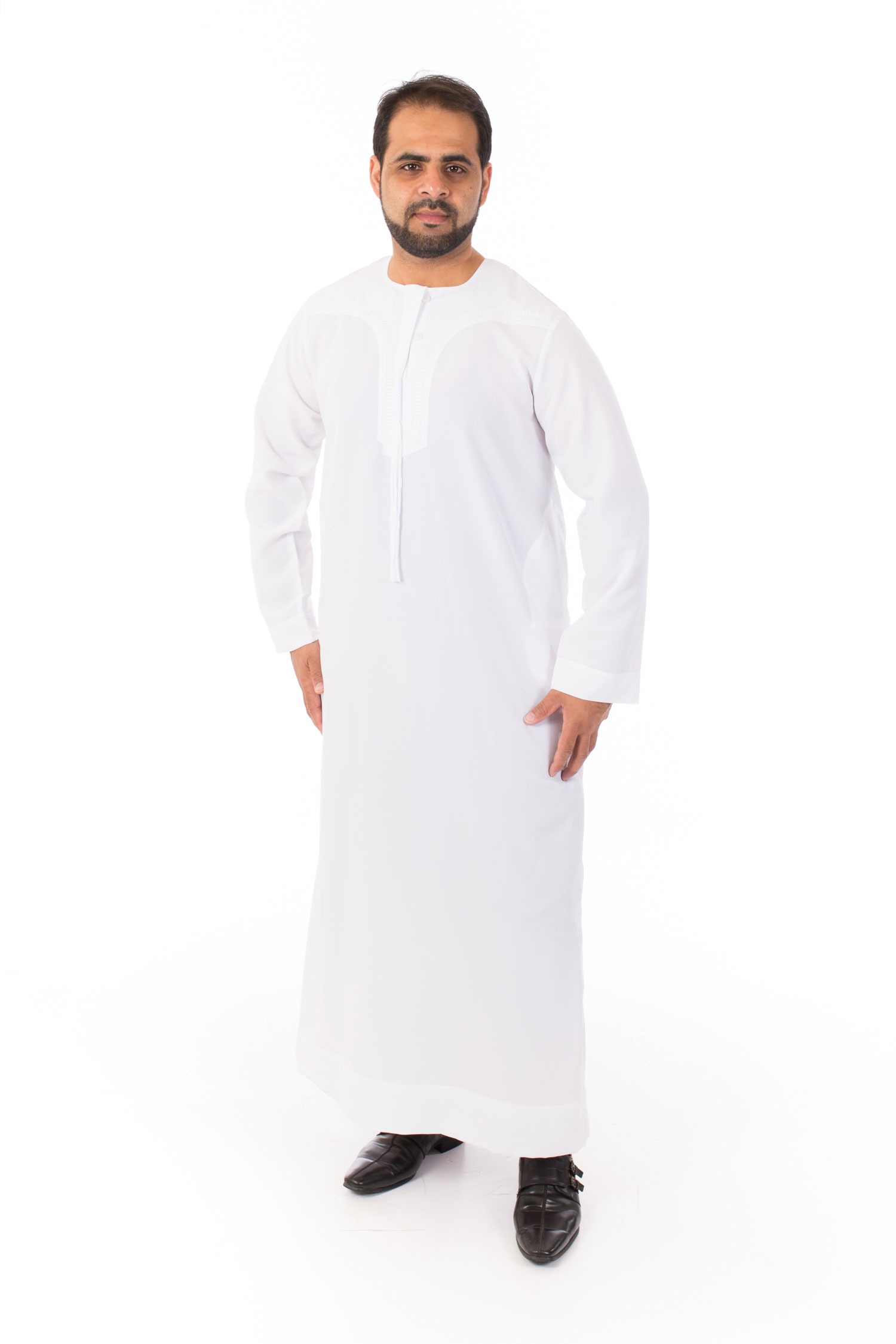 White New Omani Jubba